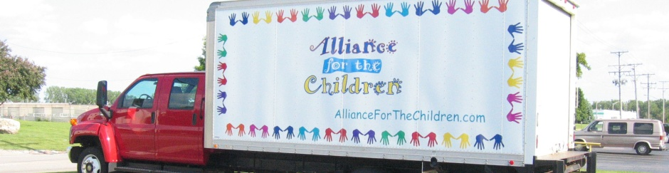 One of the original Alliance for the Children Trucks